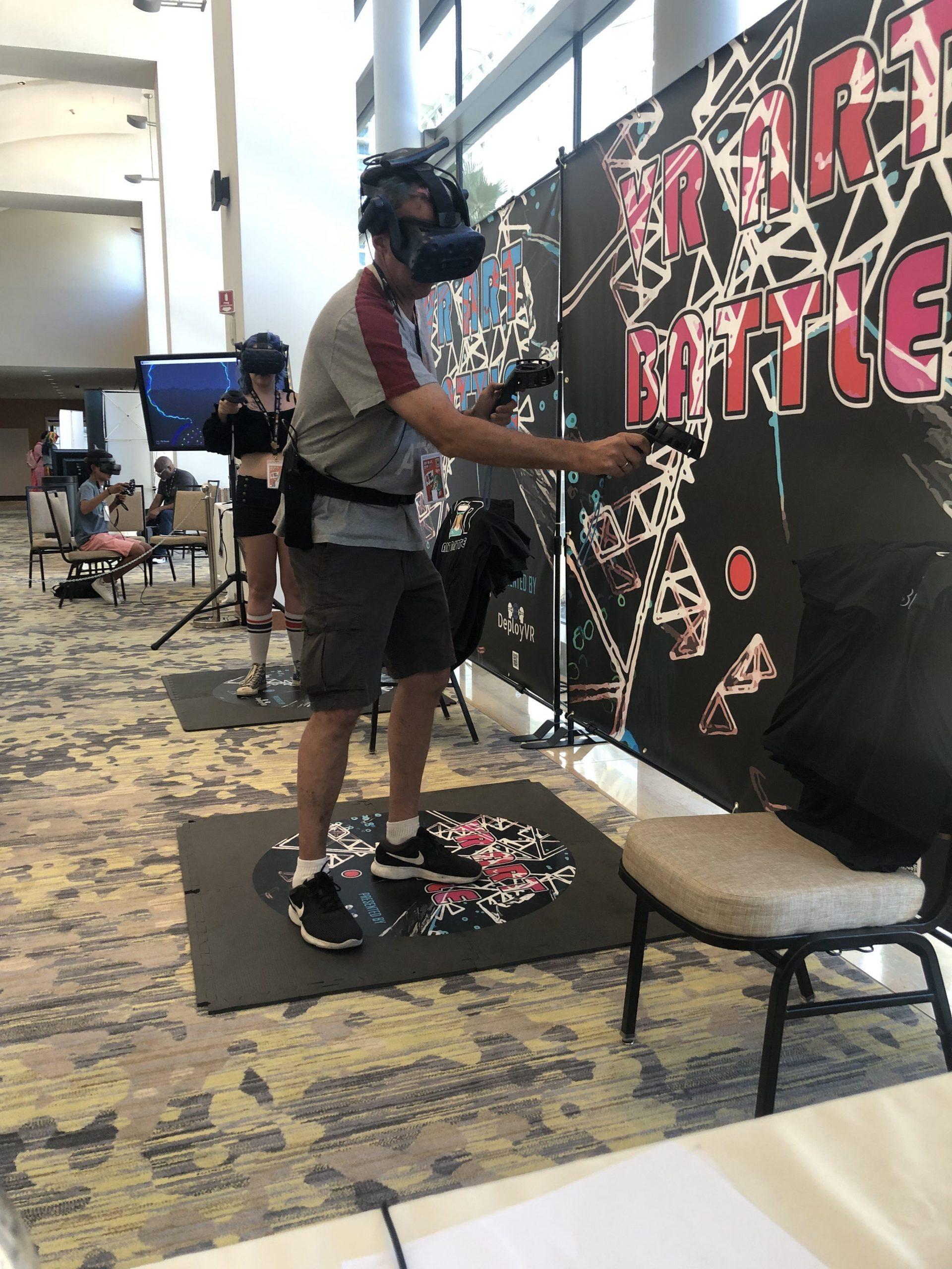 VR Art Battle Booth